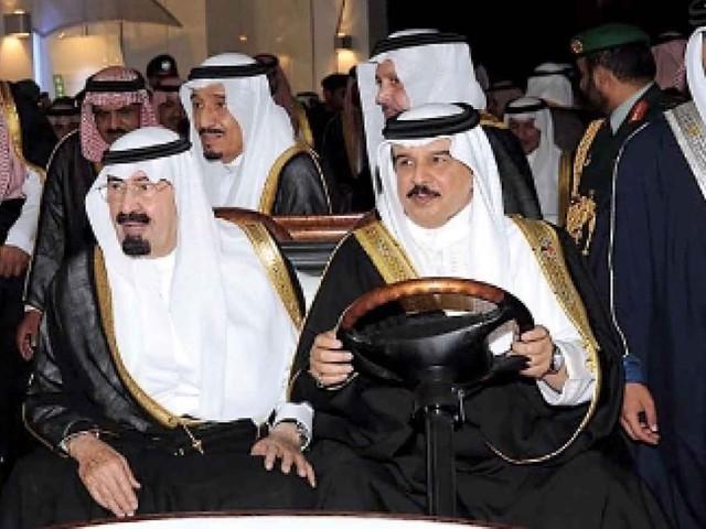 Saudi Arabiens og Qatars officielle politik - HAD VESTEN!