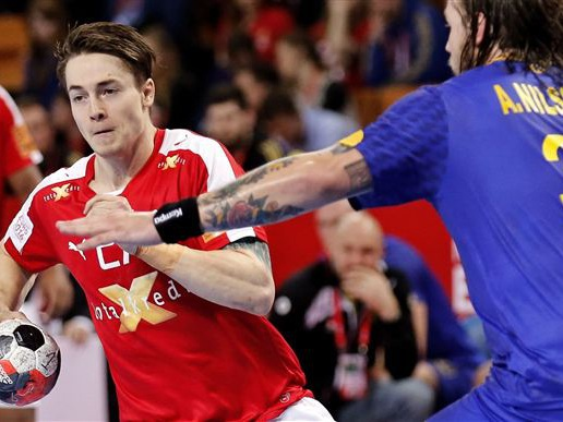 Danmark smider føring og må nøjes med 28-28 mod Sverige