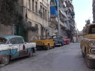 Abu Omar hopes for a future for his collection of vintage cars, but they are stuck in Syria, and the bombs and bullets are destroying his vehicles