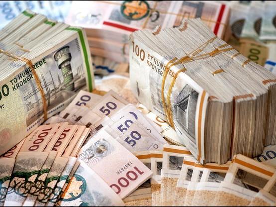 Vekselkontor får bøde på 92 millioner kroner for hæleri