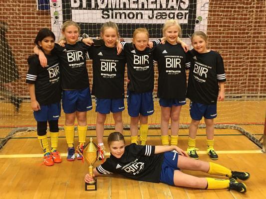 HOG Hinnerup U10 vinder De Åbne Århus Mesterskaber 2016