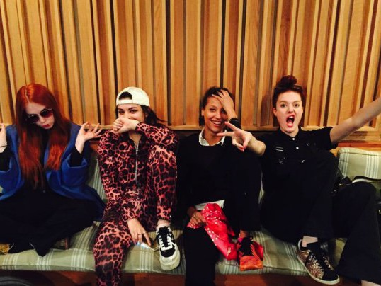 Charli XCX and Icona Pop are back in a studio working on some music