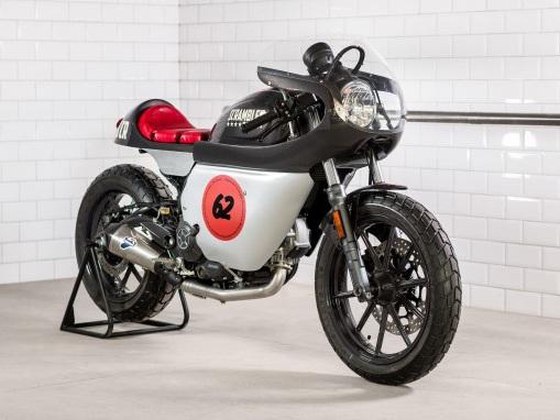 Three Motorbikes of Verona: Ducati Displays Tweaked Scramblers