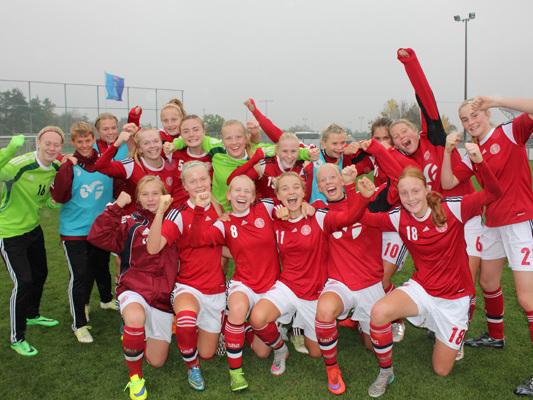 16 spillere udtaget til U17-landskampe mod Holland