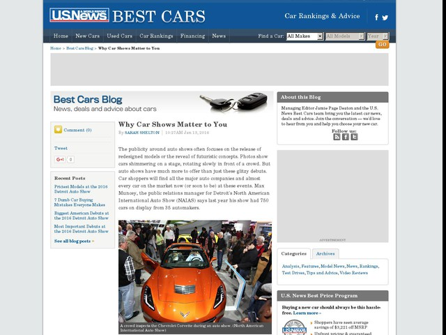 Why Car Shows Matter to You