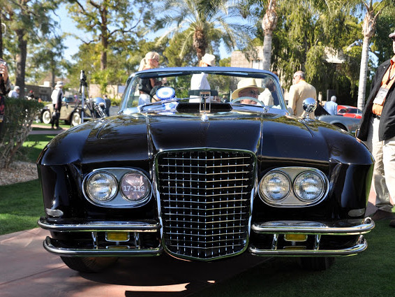 the biggest surprise I've had at a car show in years... finding a Gaylord at the Phoenix Concours
