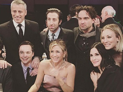Here's Your First Glimpse at the Friends Reunion, Courtesy of Kaley Cuoco