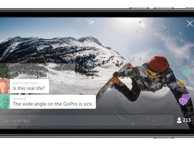 GoPro to turn Twitter into an extreme live-stream video fest - CNET