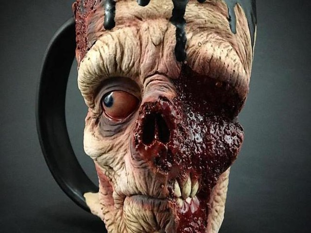 Zombie mug: The most hideously icky way to drink your coffee - CNET