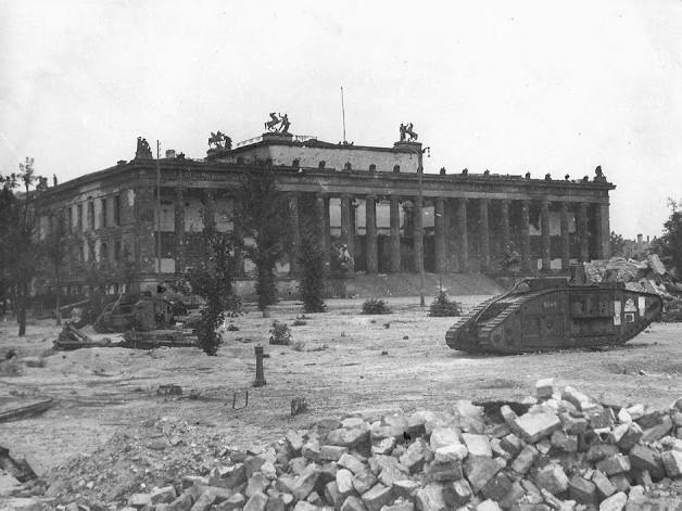 WW1 British tanks used by Germany in WW2