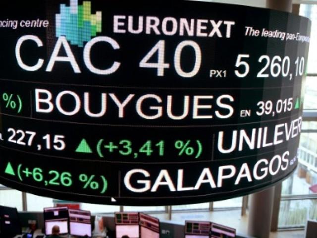 La Bourse de Paris finit en hausse de 0,49%, soutenue par l'euro