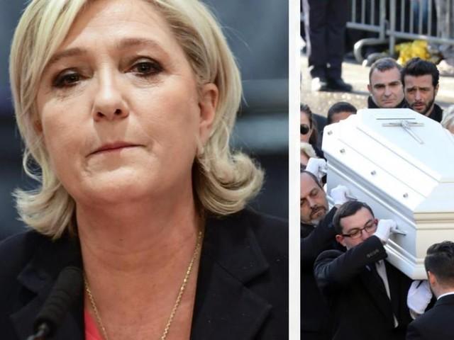 Hommage à Johnny Hallyday: comment Marine Le Pen a appris qu'elle n'était pas la bienvenue!