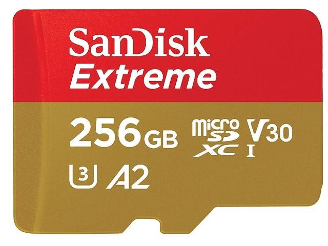 Bon plan : une carte mémoire microSD SanDisk 256 Go à moins de 95 euros