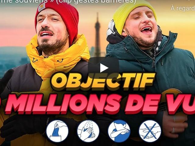 McFly et Carlito défiés par Emmanuel Macron : leur vidéo gestes barrières est arrivée !