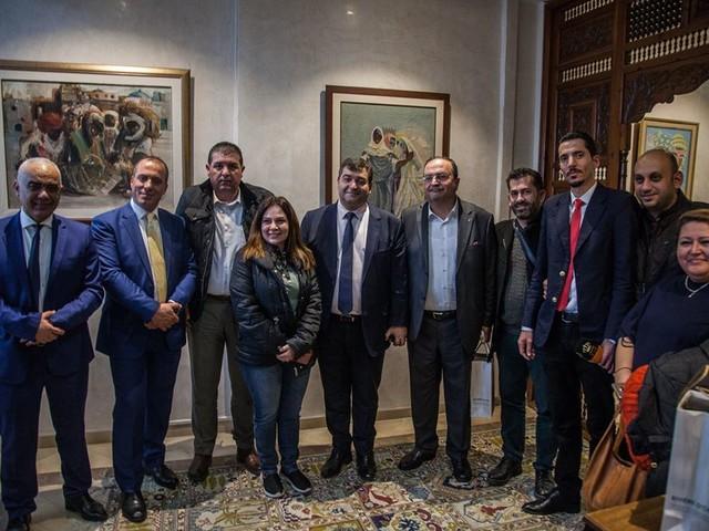 Tunisie: René Trabsesi a discuté avec des agences de voyage jordaniennes de la coopération touristique