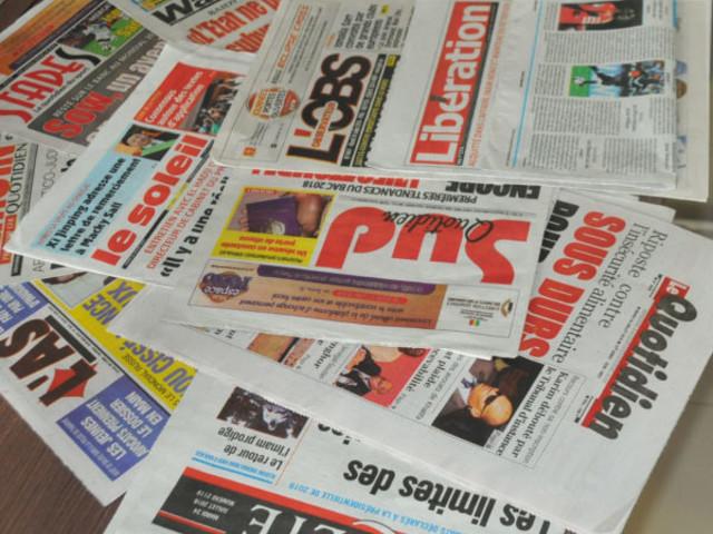 L'ECO en taille patron dans la presse sénégalaise