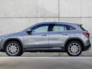 Le Mercedes GLA hybride rechargeable affiche une autonomie électrique de 64-71 km