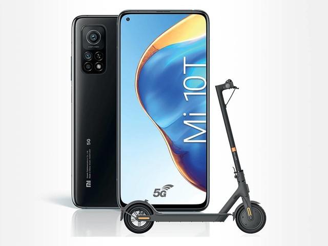 Une trottinette Mi Electric Scooter Essential offerte pour l'achat d'un Xiaomi Mi 10T chez Orange