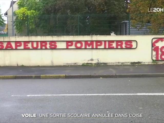Oise : une sortie scolaire dans une caserne de pompiers annulée à cause du voile de deux accompagnatrices