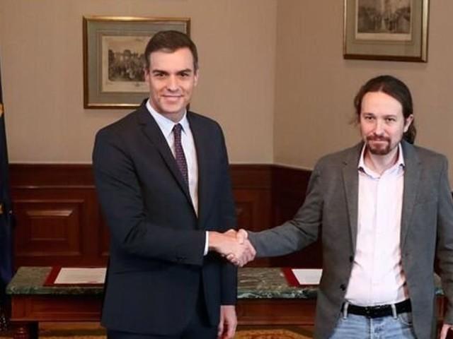 En Espagne, Pedro Sanchez va s'allier avec Podemos