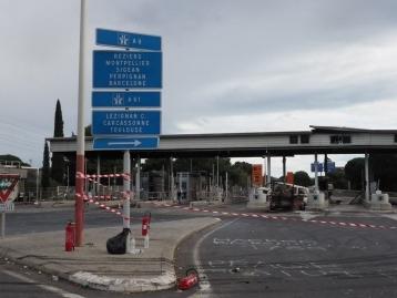 Saccage du péage de Narbonne : prison ferme pour 21 gilets jaunes
