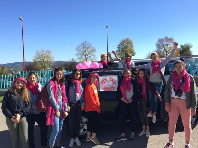 Rodez. Des élèves de 3e engagées contre le cancer du sein