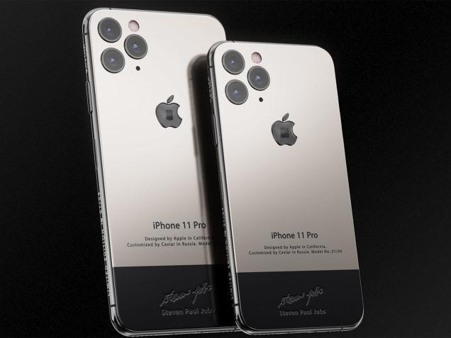 Un iPhone « Steve Jobs edition » à plus de 5.000 €