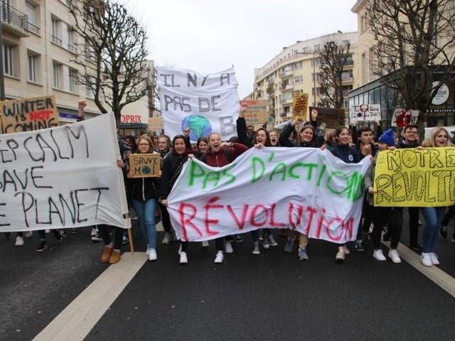 Deux jours de mobilisation à Caen pour le climat : march'action et désobéissance civile au menu