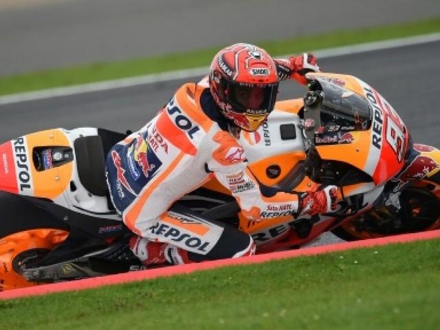 MotoGP de Grande-Bretagne: quatrième pole d'affilée pour Marquez