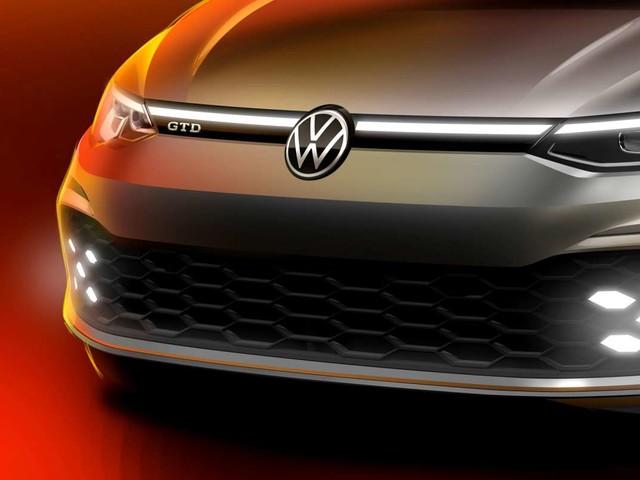 Nouvelle Volkswagen Golf 8 (2020) : la version GTD se montre