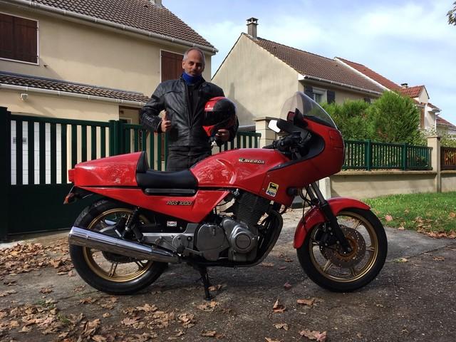 La moto classique de la semaine : Laverda 1000 RGS