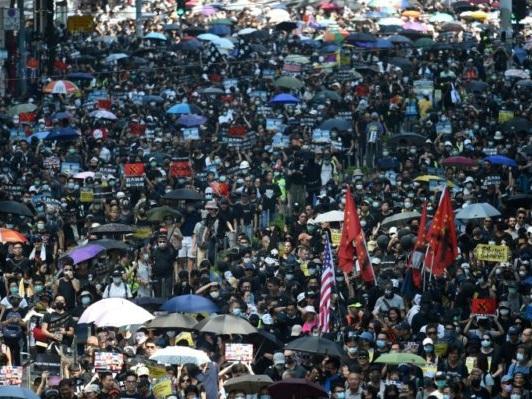 Hong Kong: «journée de chagrin» pour le 70e anniversaire de la Chine populaire