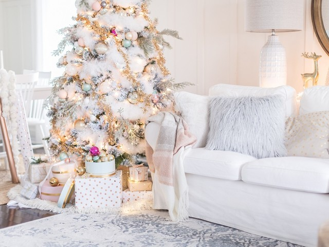 Décoration Noël pastel : idées et conseils pour un décor festif tout en délicatesse