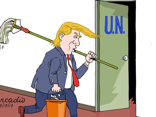 États-Unis. Souveraineté, Iran et Corée au menu du premier discours de Trump à l'ONU