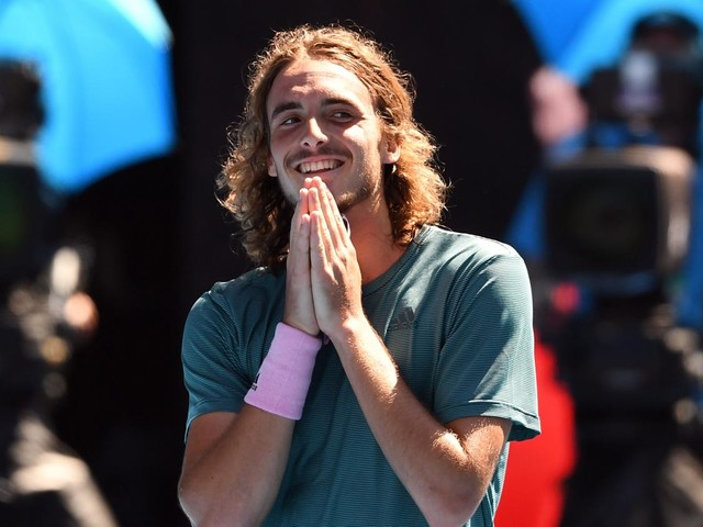 Look de surfeur, homme réservé au caractère bien trempé... Qui est Stefanos Tsitsipas, la sensation de l'Open d'Australie de tennis?