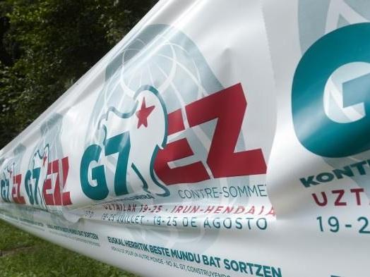 """""""On a peur que les black blocs cassent le magasin"""":Hendaye et Irun se préparent à accueillir le contre-sommet du G7"""