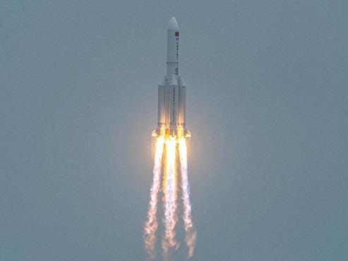 Une fusée hors de contrôle va revenir sur Terre ce week-end, mais personne ne sait où