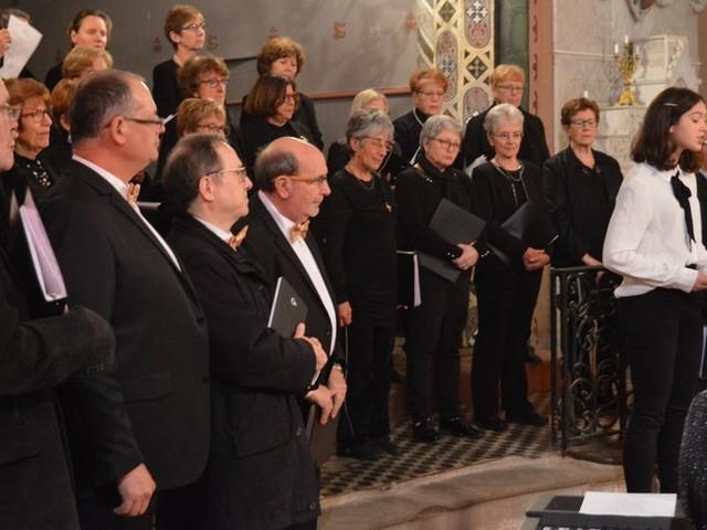 Alairac : l'ensemble vocal Chants mêlés a ravi les mélomanes