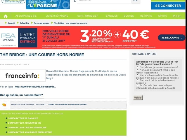 The Bridge : une course hors-norme