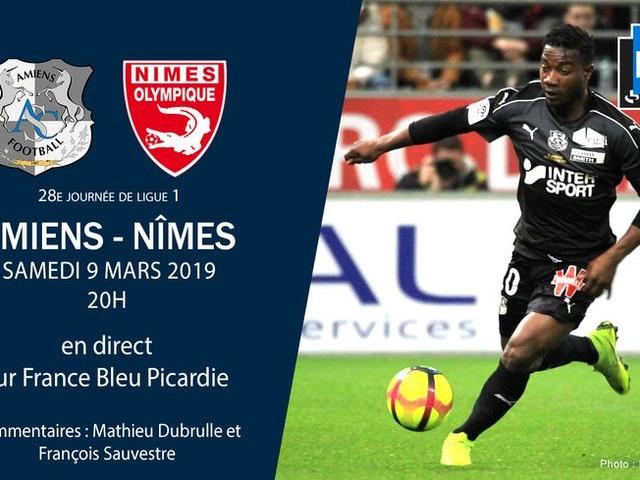 Ligue 1 - direct : suivez le match de la 28e journée entre Amiens et Nîmes