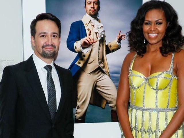Michelle Obama fait (encore) sensation avec cette robe haute couture