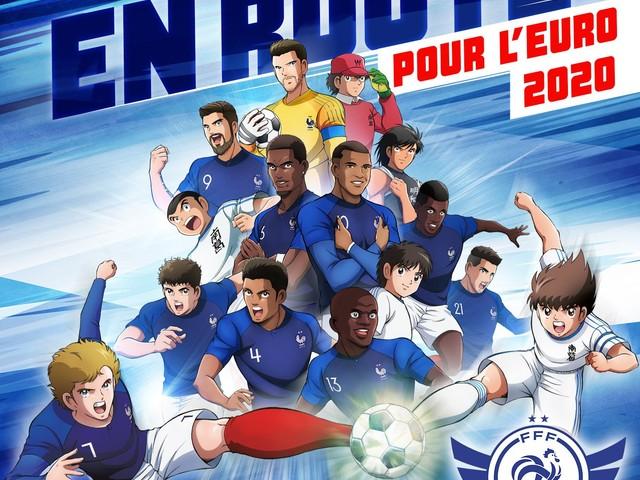 Captain Tsubasa et la Fédération Française de Football s'associent pour une collaboration à l'occasion de l'Euro 2020
