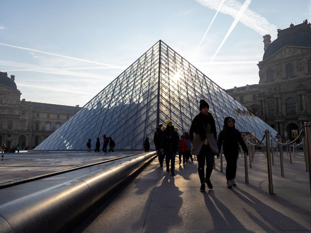 En grève, le Louvre restera fermé ce vendredi