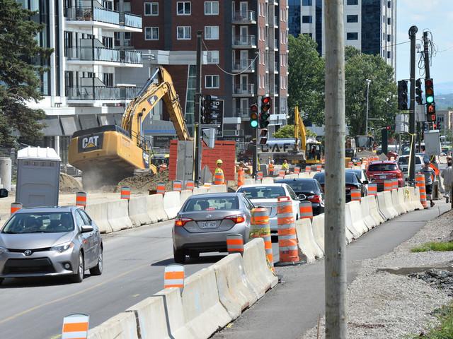La CSD propose de nouvelles mesures de sécurité sur les chantiers routiers