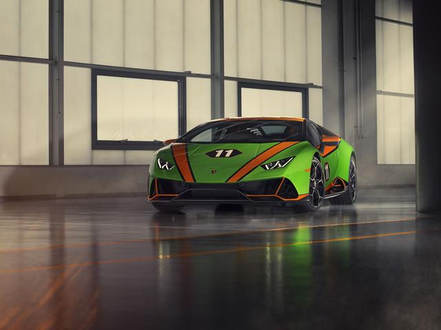 Les photos de la Lamborghini Huracan EVO GT Celebration, hommage aux victoires à Daytona et Sebring