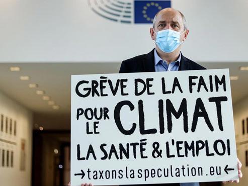 Un eurodéputé au 14e jour de grève de la faim: il demande une taxe sur la spéculation
