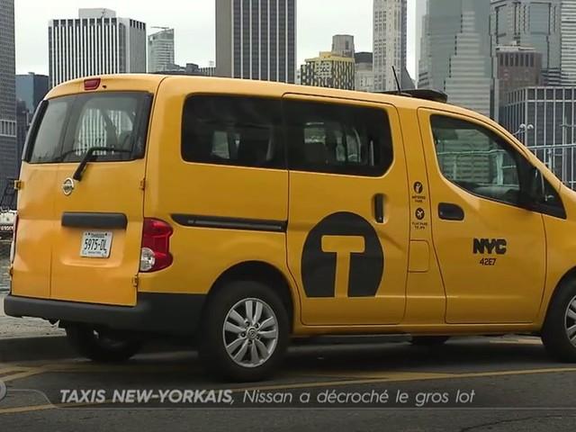 Taxis new-yorkais, Nissan a décroché le gros lot - Emission TURBO du 12/11/2017
