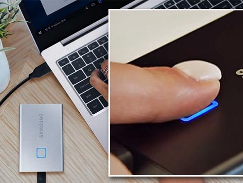 Les tests de Mathieu : un mini disque dur externe protégé par votre empreinte digitale, LA bonne idée de 2020 ?