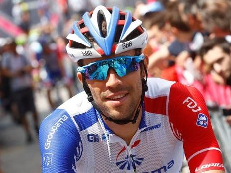 """Tour d'Italie: pour Pinot, """"le niveau est plus élevé cette année"""""""