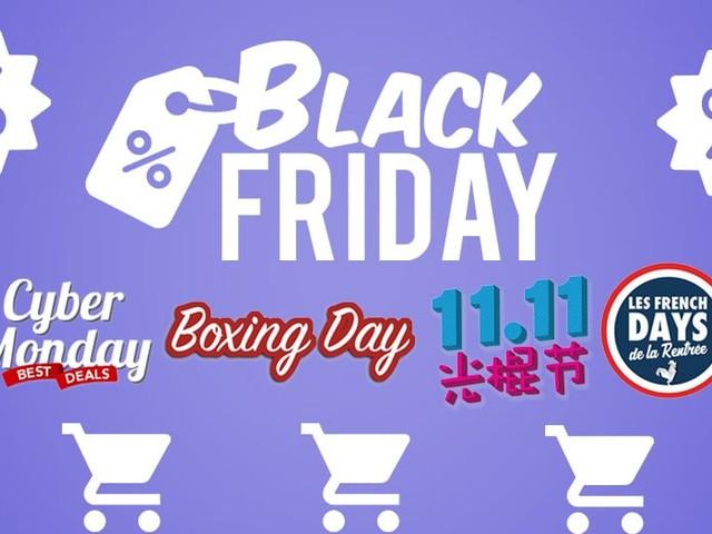 Black Friday 2019 : quels sont les autres gros événements shopping de l'année?